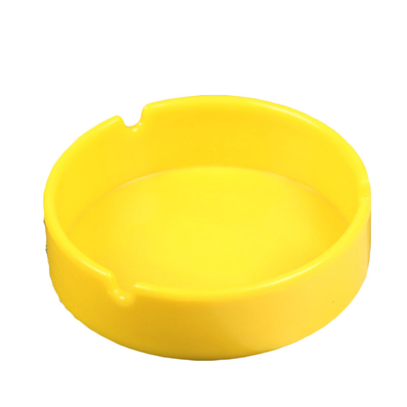 thick circular creative ashtray melamine melamine resin non friable ktv bar cafe household ashtray multi - Multi Cafe Decoration