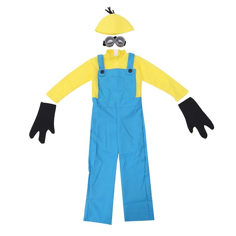 0b2fe070f4 Consiglia set completo dei ragazzi cattivissimo me minion movie cosplay  abbigliamento bambino di halloween costumi di carnevale fancy dress in  Consiglia set ...