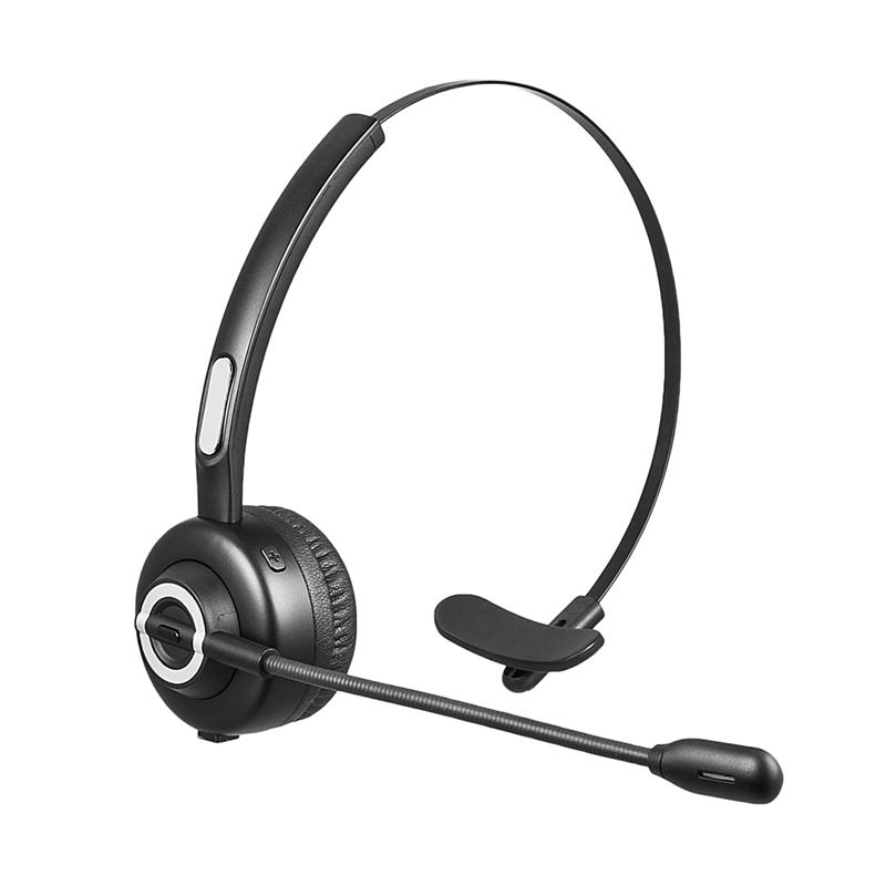 Bluetooth Headset Office Wireless Headset For Cell Phone Calling Cvc6 0 Noise Cancelling Supports A2dp Music Playing 1 Order Bluetooth Earphones Headphones Aliexpress