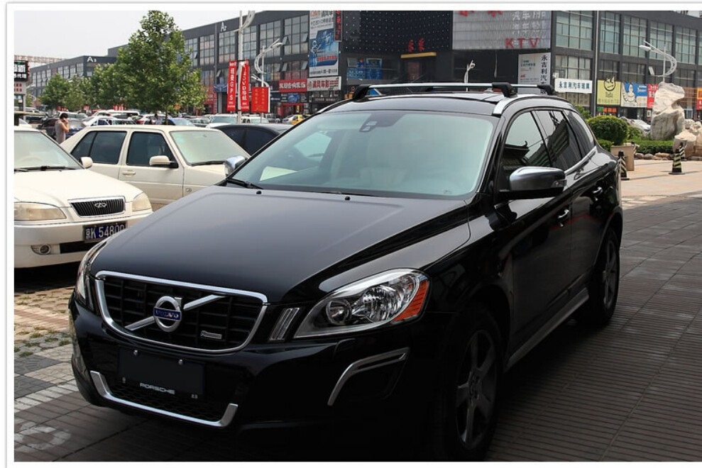 mlzaq para Volvo XC60 2018 2019 2020 Coche Tronco de Equipaje Guardaequipaje Organizador de Carga Nylon El/ástico Malla Neta Estilo Accesorios