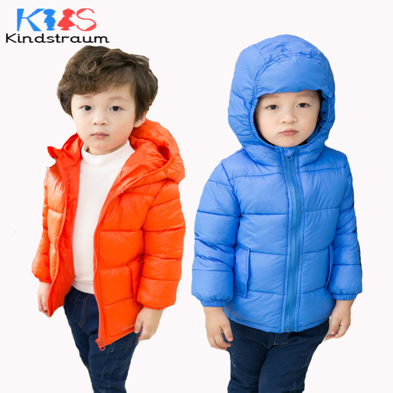 Kindstraum 2017 New Kids Winter Coats Hooded Cotton Children Solid Casual Warm Jacket Brand Boys Girls Snow Outwear, MC857 kindstraum 2017 fashion kids winter jacket cotton new boys girls warm hooded coat children casual dinosaur outwear printed mc802