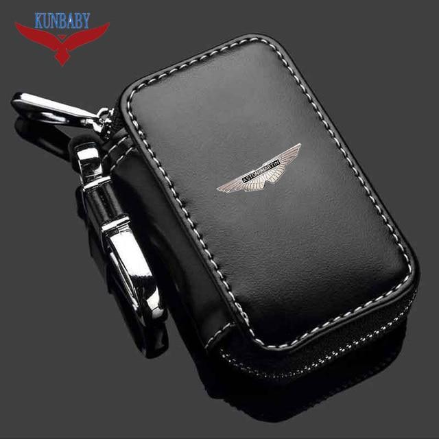 Kunbaby High Quality Genuine Leather Car Brand Key Holder Cars Key
