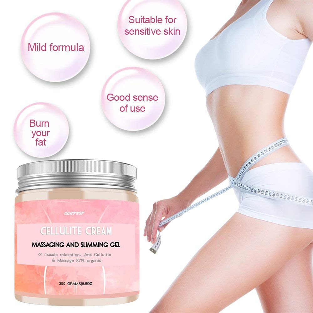 Anti Cellulite Massage Natural Muscle Relaxer Slimming Cellulite Cream Fat Burner Weight Loss hot hot Creams 300gram hoodia gordonii extract powder natural fat burners for weight loss