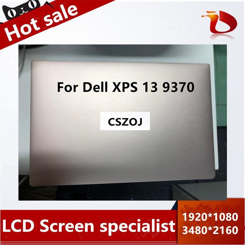 Livraison gratuite 14 écran LCD + numériseur tactile assemblée avec cadre ordinateur portable pour Lenovo Yoga 520-14 80X8 520-14IKB