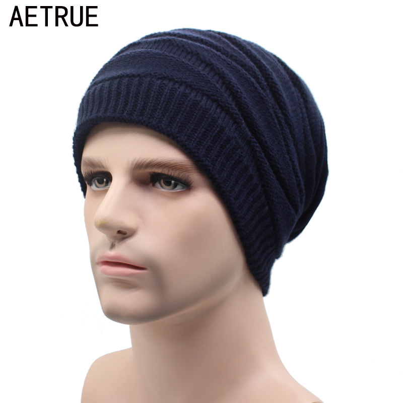 Winter Beanies Knitted Hat Men Fashion Caps Warm Baggy Skullies Balaclava Bonnet Brand Mask Winter Hats For Men Women Hat 2017 aetrue beanies knitted hat men winter hats for men women fashion skullies beaines bonnet brand mask casual soft knit caps hat