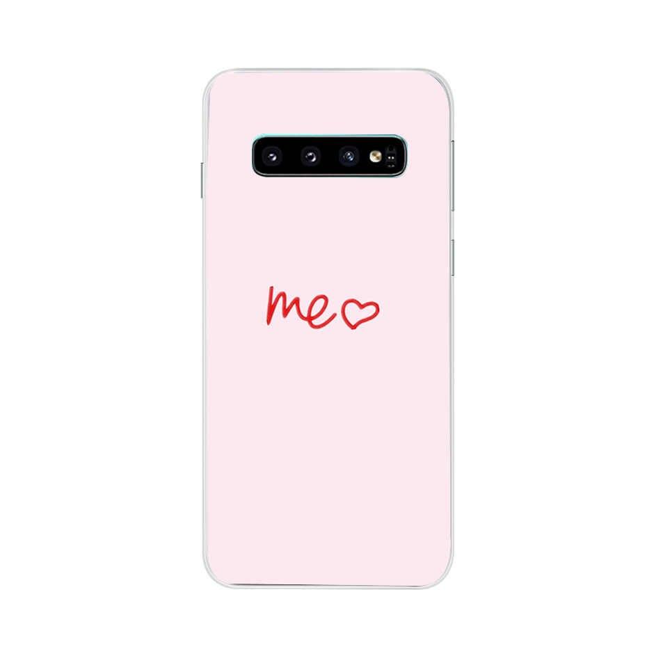 Cho Trên Samsung Galaxy S10 S10Plus S10e Ốp Lưng Silicone TPU Cover Ốp Lưng Điện Thoại Samsung A50 A30 S10 Plus G975F S 10 SM-G973F Ốp Lưng