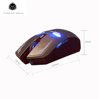 2016 New Optical USB Iron Man Mouse Wireless Mouse Gaming Mouse Gamer Mute Button Silent Click