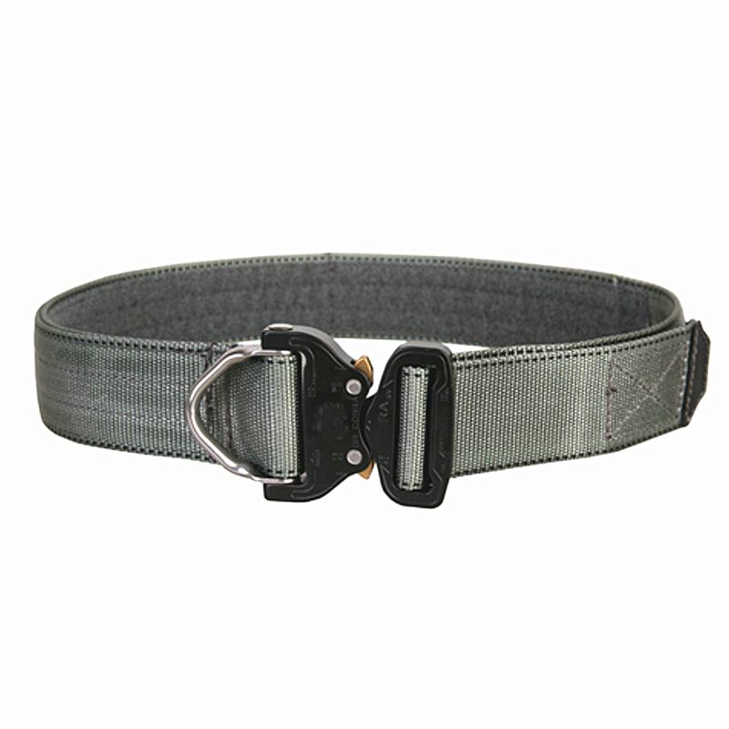 Airsoft Competitive Cobra1.75-2inch One-pcs Combat Belt Nylon Support Hunting Tactical Heavy Duty Buckle Pistol EDC Belt Waist