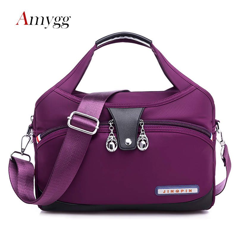 Ten Colors Waterproof Oxford High Quality Women Bag Handbags  Fashion Designer Messenger Shoulder Bag Lightweight Crossbody Bag