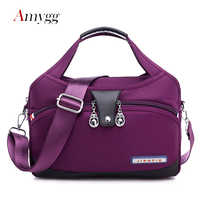 Ten Colors Waterproof Oxford High Quality Women Bag Handbags Fashion Designer Messenger Shoulder Bag Lightweight Crossbody Bag