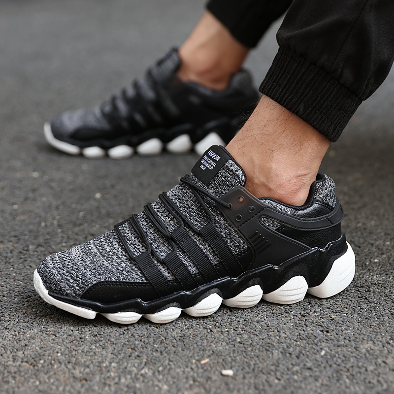 2018 Spring Autumn Casual Shoes For Men Breathable Fashion Male Shoes High Quality Lace-up Sneaker Zapatos Hombre Plus Size45,46 heinrich hot spring autumn high quality men casual shoes fashion brand soft breathable lace up male shoes sapato masculino