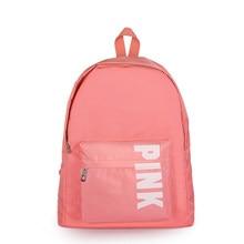 cc1efc073cf1 Новая любовь розовый девочка-подросток сумка мешок летние каникулы пляжная  сумка для писем розовый портфель сумка рюкзак mochila.