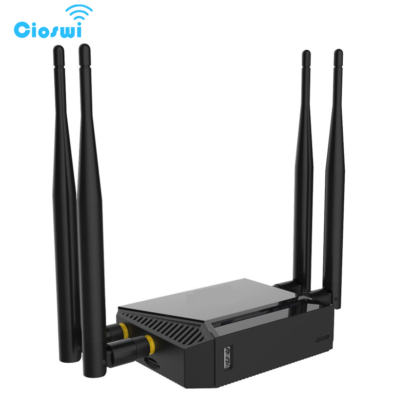 Cioswi WE3926 3G 4G Wifi Router Modem With SIM Card Slot And USB,1200 Mbps Router Wifi With 4*5dBi Antenna Wifi Extender 118 standard wifi router wall with 300 mbps