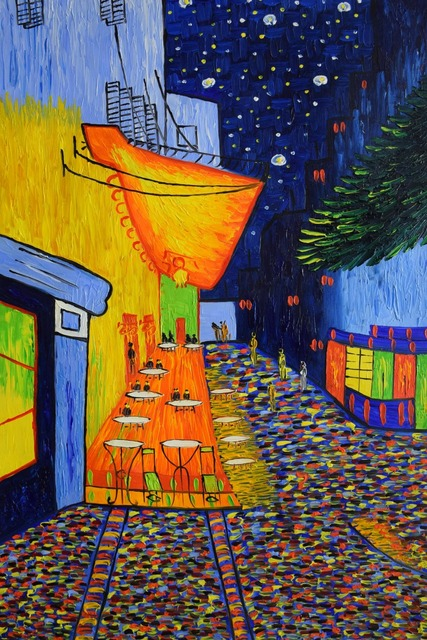 Hand Painted Famous Van Gogh Abstract Canvas Oil Painting ...