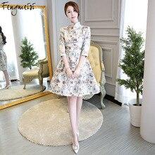 Best world apparel Fengmeisi Women Cheongsam Shor at discount