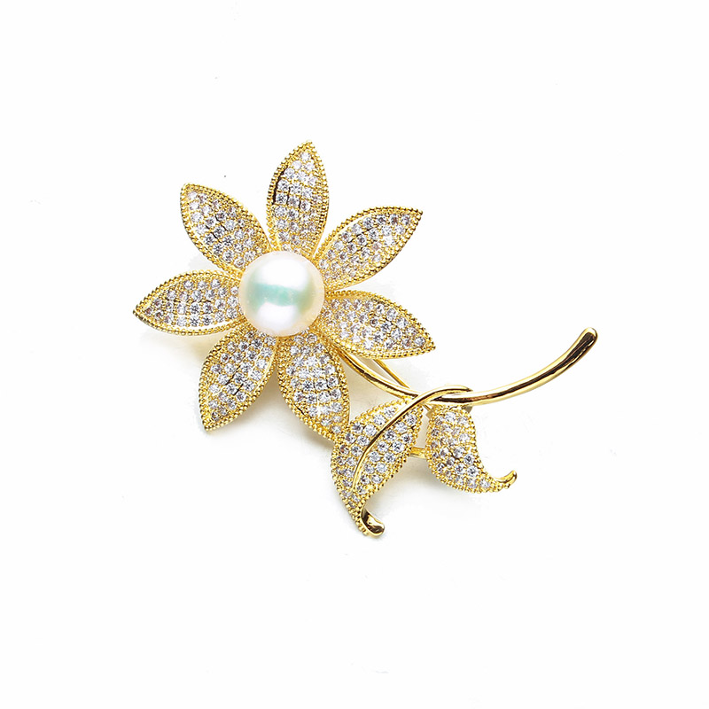 Chinese style retro high-end shell flowers pearl diamond brooch needle scarf buckle wild plum blossom corsage free shipping все цены