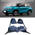 For Suzuki Vitara Escudo 2015 2016 2017 2018 Car styling Interior Black Floor Mats Pads Carpets Car Styling