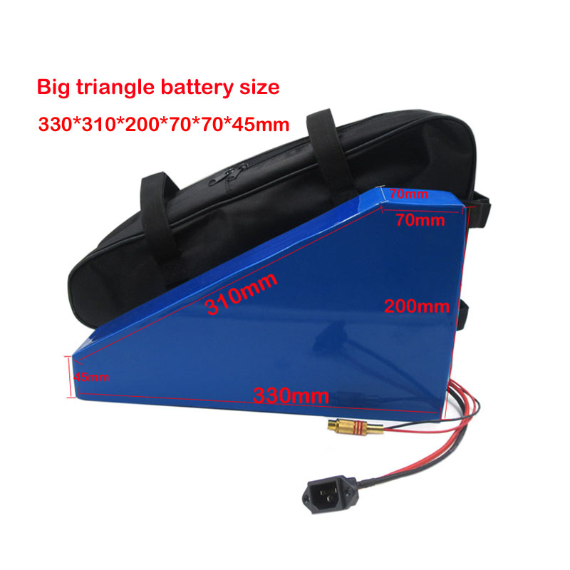 High Quality Triangle Battery Bag For 48v 36v Electric Scooter