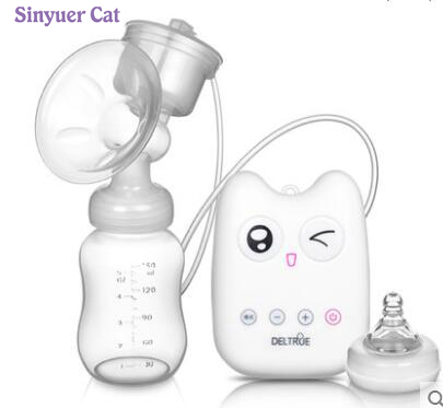 Intelligent USB electric breast pumps baby BPA Free Postpartum Breast feeding Breast milk suckers Single breast pump