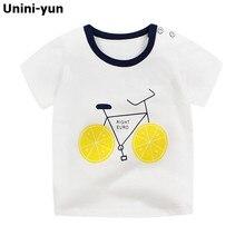 Ropa de bebé niñas 2018 marca bebé camiseta niños ropa Animal patrón de verano de las niñas camisetas de Niños de algodón 100% T camisas