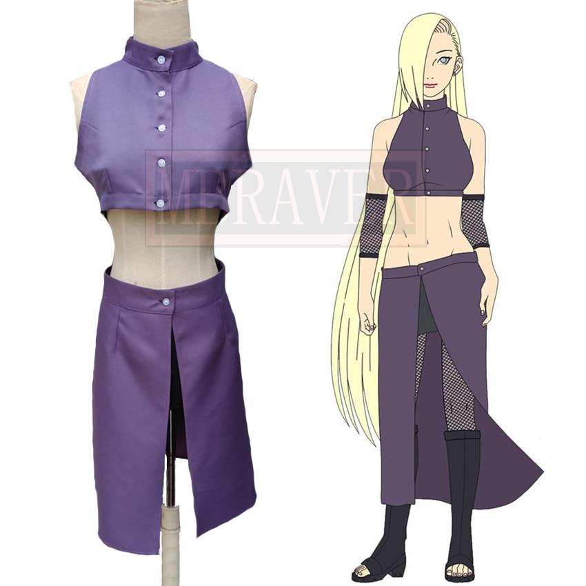 Naruto Shippuden Naruto Cosplay Ino Yamanaka Cosplay Costume