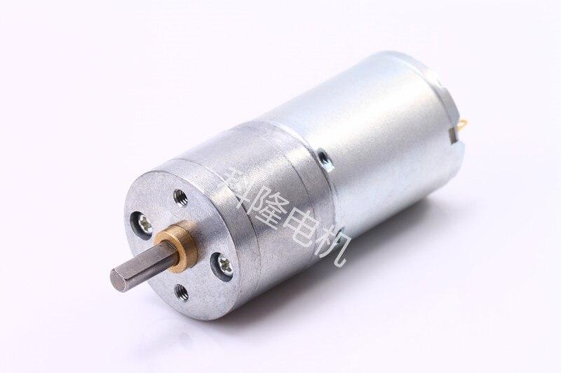 DC 12V 4mm Shaft Diameter Cylinder Shape Electric DC Gear Motor round shaft cylinder electric mini vibration motor 6900rpm 1 5 6vdc