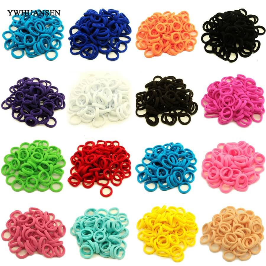 YWHUANSEN Baby Scrunchy Elastic hair bands for children hair ornament for baby hair accessories Print Headwear Fittings wreath new arrival styling tool striped ball elastic hair bands accessories make you beautiful used by women young girl and children