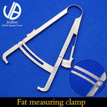 Measure abdominal fat thickness during cosmetic and body examination 17cm stainless steel Fat measuring clamp