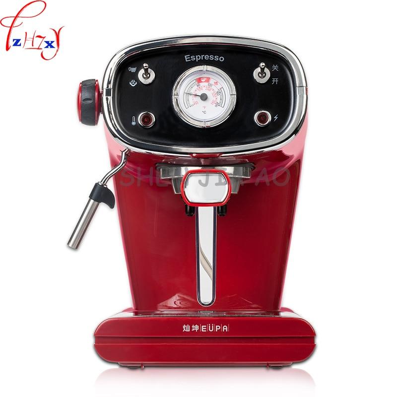 1pc 220V 800W semi - automatic Italian coffee machine 15bar high pressure steam milk coffee machine цена и фото