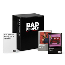 Adult Party Cards Game Bad People The Basic And Extended Versions  Intellectual Development Educational Toy