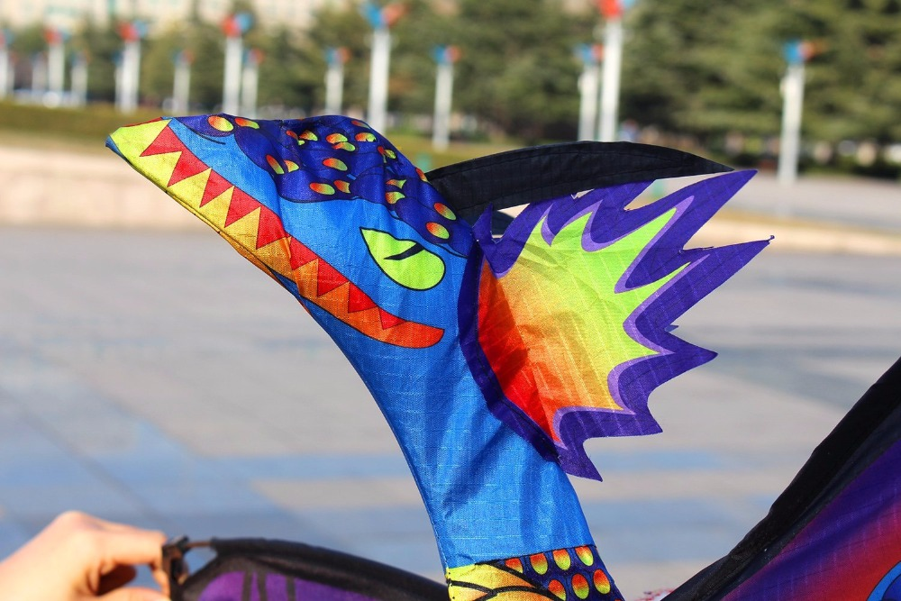 New-High-Quality-Classical-Dragon-Kite-140cm-x-120cm-Single-Line-With-Tail-With-Handle-and-Line-Good-Flying-Kites-From-Hengda-5