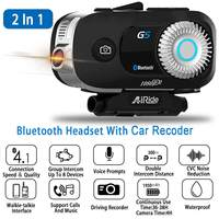Waterproof G5 3500M bluetooth Motorcycle Camera Helmet Headset Intercom Communication For 8 Riders Intercom with Headset