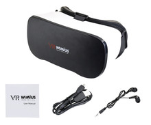 Wimius All In One VR Headset 3D Glasses Virtual Reality Headset Wifi Bluetooth 4.0 1080P Full HD 5.5inch Display Android VR BOX
