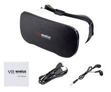 Wimiusทั้งหมดในหนึ่งVRชุดหูฟังแว่นตา3DเสมือนจริงชุดหูฟังWifiบลูทูธ4.0 1080จุดFull HD 5.5นิ้วจอแสดงผลดรอยด์VRกล่อง