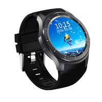 HEINO New Dial Call Quad Core 512MB 8GB RAM Heart Rate Monitor Smart Watch Android 5