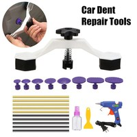 1 Set Paintless Auto Car Dent Repair Body Damage Fix Tool Pulling Bridge Puller Dent Removal