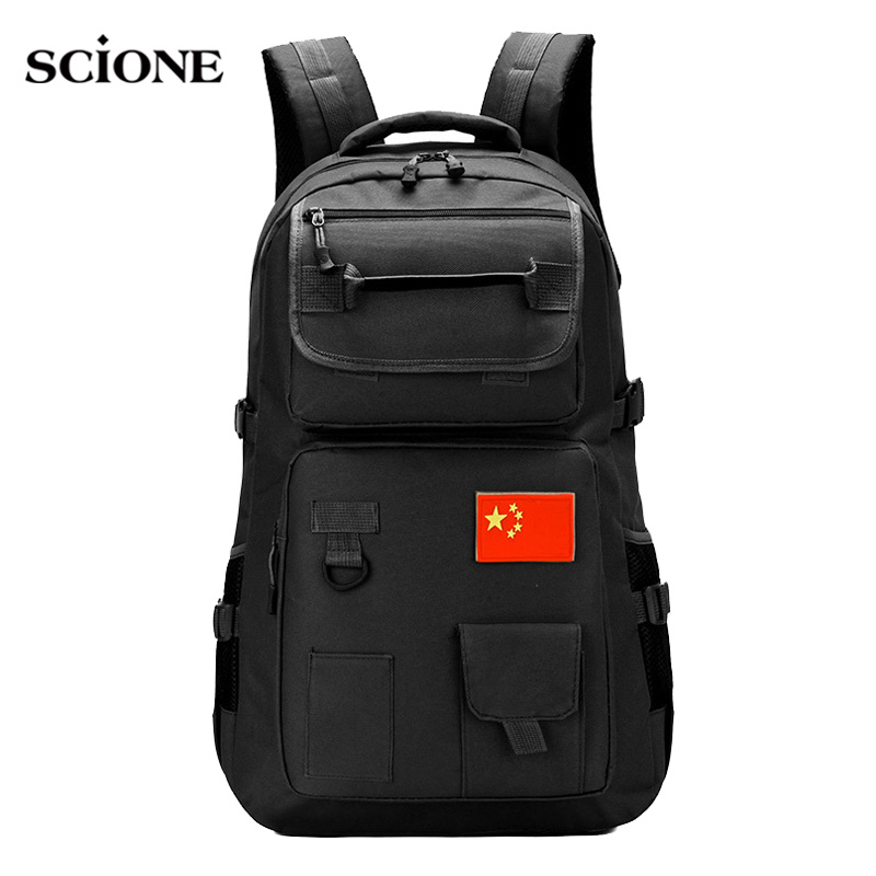 50L Military Bag Men Tactical Backpack Travel Mountaineering Hiking Rucksack Camping Outdoor Bags Trkking Travel Pack XA775WA