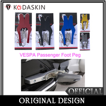цена на KODASKIN Passenger Foot Peg Extensions Extended Footpegs for Vespa GT GTS GTV 60 125 150 200 250 300 300ie