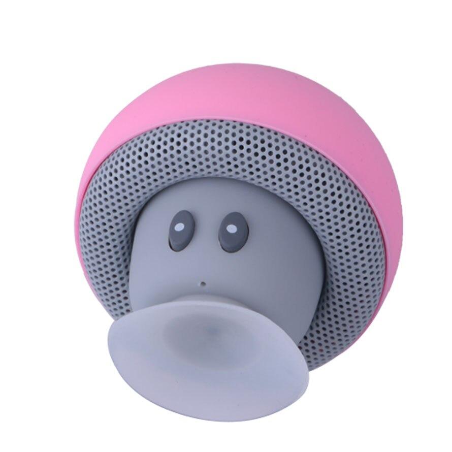 Cartoon Mushroom Wireless Bluetooth speaker waterproof sucker mini bluetooth speaker audio outdoor portable Bracket