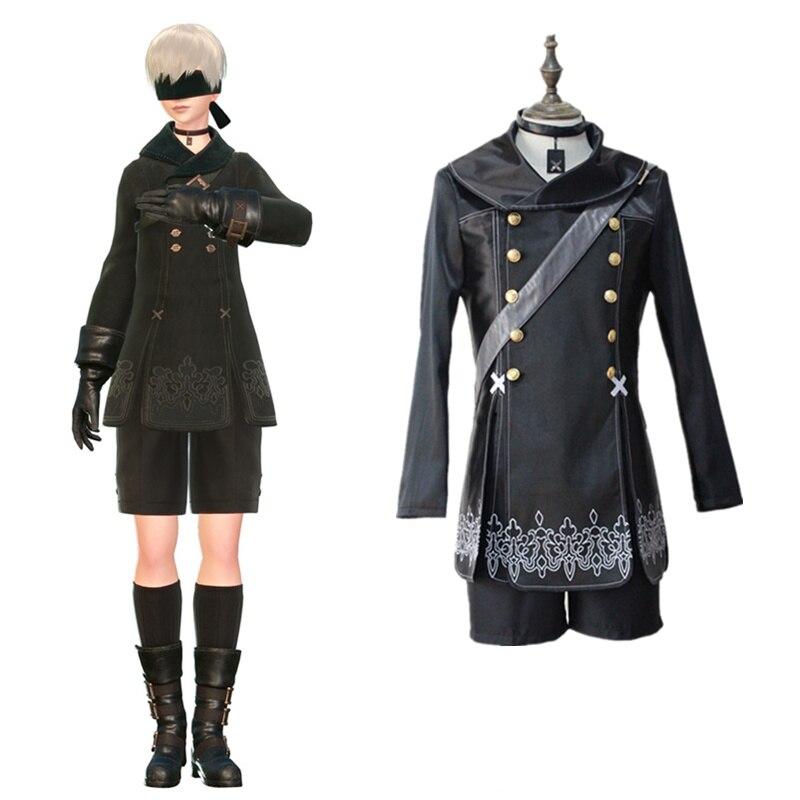 YoRHa No. 9 Tipo S trajes cosplay juego japonés NieR: Autómata ropa - Disfraces