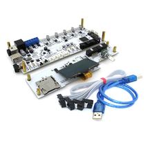 New 3D printer um2+extended Masterboard V2.1.4 Mega 2560+16U2 board support single or dual nozzle for Ultimaker2+ printing