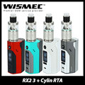 Original Wismec Reuleaux RX2/3 Mod with Wismec Cylin RTA Atomizer 3.5ml Electronic Cig Kit Vaping Reuleaux RX23 Mod