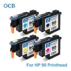 Para HP 90 C5057A C5056A C5055A C5054A Da Cabeça De Impressão Da Cabeça de Impressão Para HP DesignJet 4000 4000 ps 4020 4500 4520 de Impressora (BK C M Y)