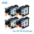 Voor HP 90 Printkop C5054A C5055A C5056A C5057A Printkop Voor HP DesignJet 4000 4000 st 4020 4500 4520 Printer (BK C M Y)
