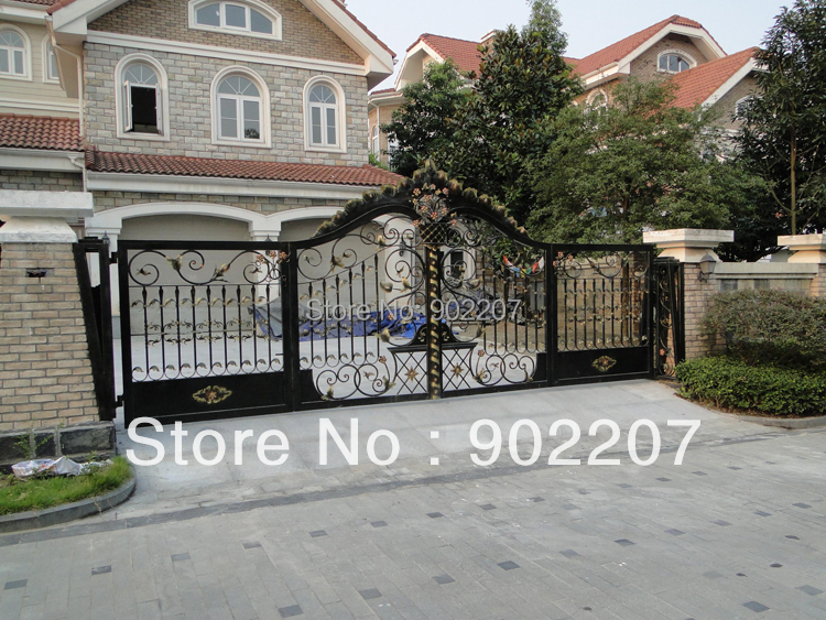 wrought iron gates,security iron gate,iron door designs ...