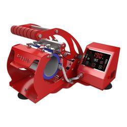 Czerwony inteligentny kubek prasa termiczna maszyna do odprowadzania ciepła dla 11OZ filiżanki do kawy kubki sublimacji ST 130 biały/czerwony