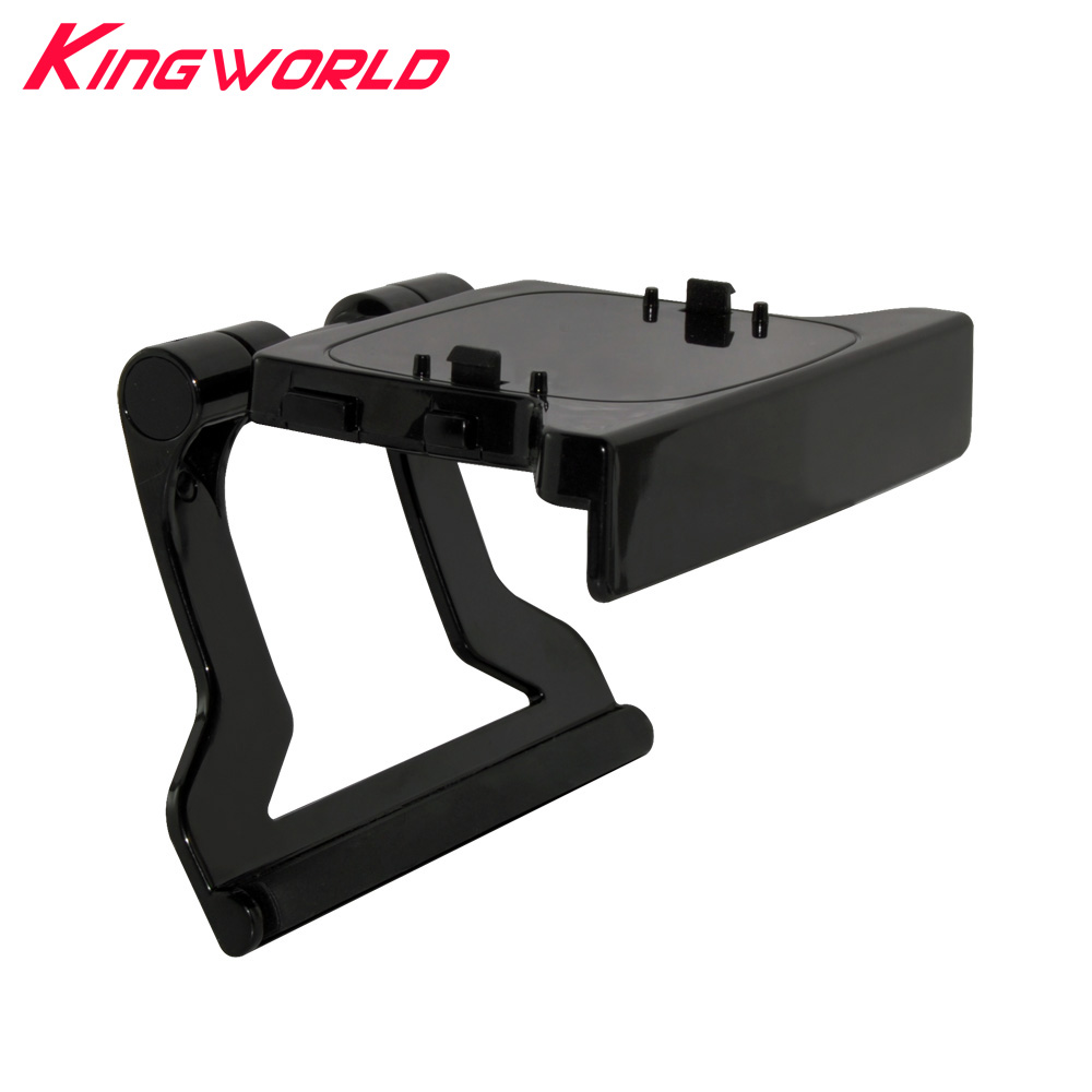 10pcs High quality TV Clip Mount Mounting Stand Holder for Microsoft For Xbox360 Xbox 360 Kinect Sensor