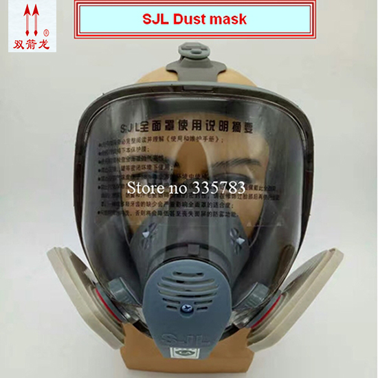 new full face respirator dust mask 1PCS mask+4PCS filter respirator mask anti pollution industrial safety dust mask 300pcs anti fog dust disposable masks medical anti dust surgical face mouth face mask respirator for man women