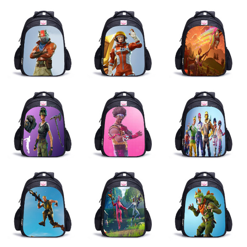 Dropshipping 3D Battle Royale Fortnit Game Backpack Boy Girls Children Bags Daily Backpacks Kids Book Bag Cosplay Costume