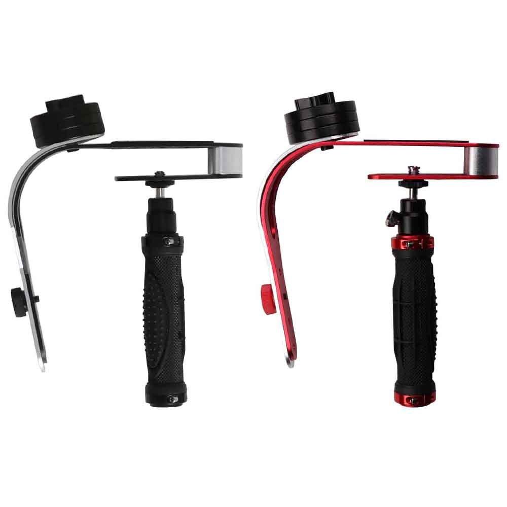 Cámara portátil Universal estabilizador de mano Mini Steadicam para Canon Nikon Sony DSLR Gopro héroe teléfono DV Video